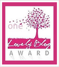 Lovely blog award grande