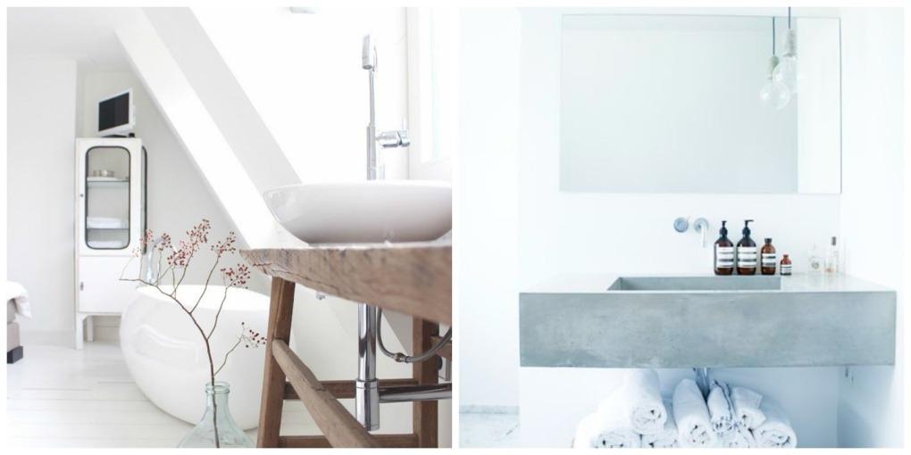 Baño Totalmente Blanco:Trucos para reformar tu baño