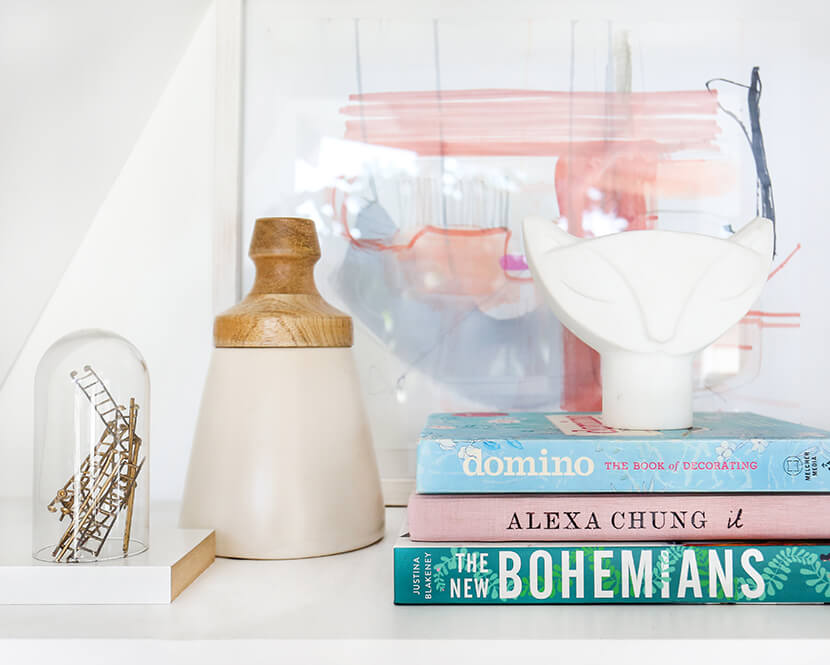 Emily-Henderson-Pink-Shelf-Styling